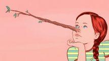 دروغگو چگونه رفتار میکند