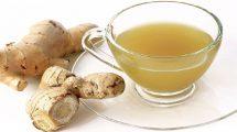 خواص درمانی نوشیدن چای زنجبیل