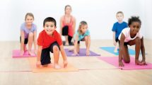تمرین یوگا برای سلامت کودکان