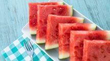 هندوانه میوه خوش رنگ و خوشمزه