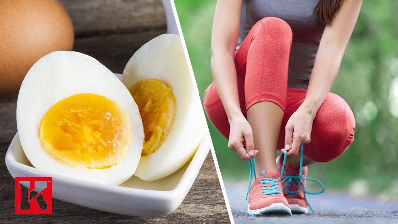 تامین انرژی بدن با خوردن تخمه مرغ