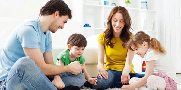 وقت گذرانی با خانواده