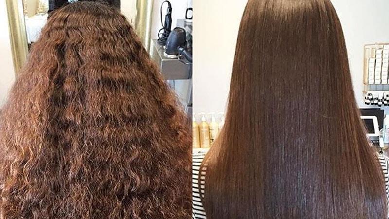 صاف کردن مو با گلت