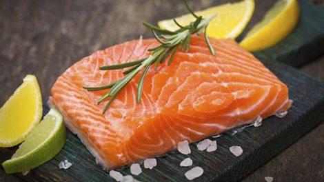 مزه دار کردن ماهی سالمون