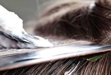 روش کراتینه کردن موی سر