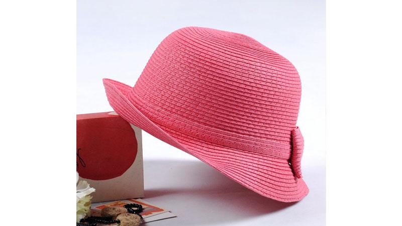 مدل کلاه نوجوان صورتی