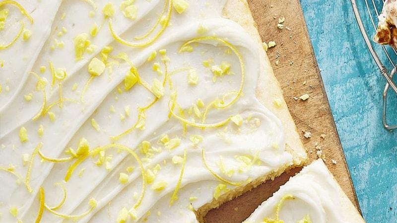 کیک ساده خوشمزه