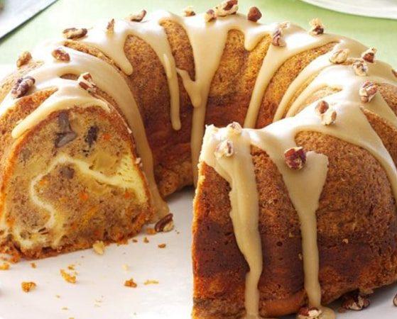 کیک خوشمزه خانگی