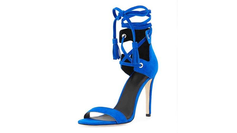 کفش مجلسی آبی
