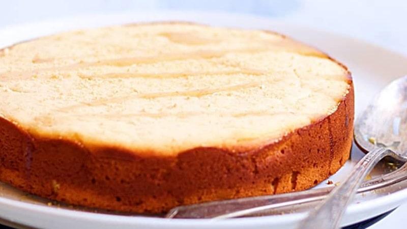 کیک پرتقالی بدون فر
